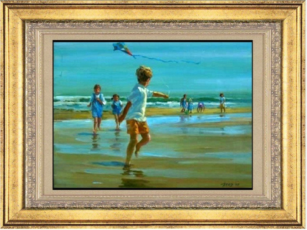 Original Acrylic Lucelle Raad - Up and Away