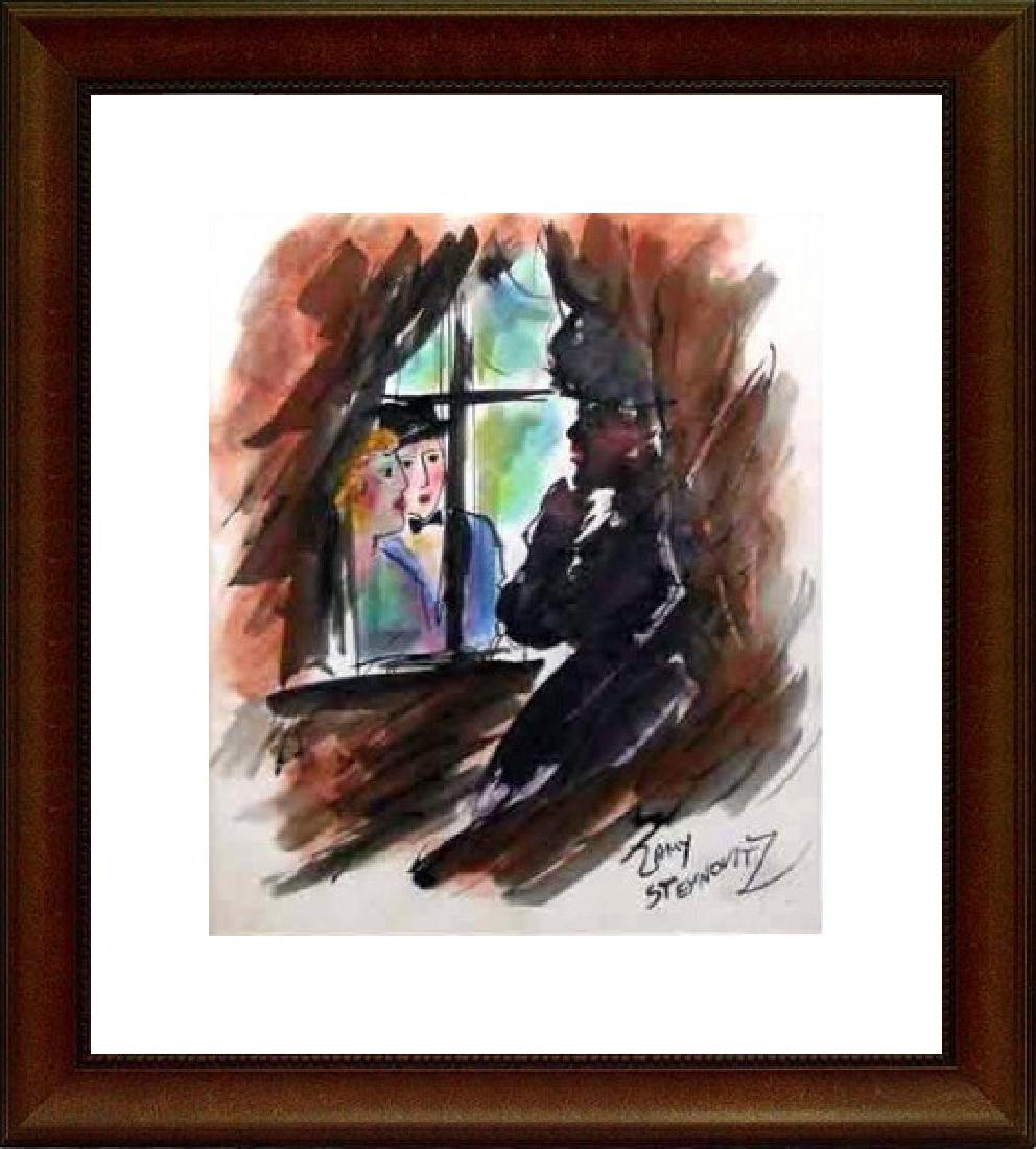 Original Pastel Zamy Steynovitz - Window View