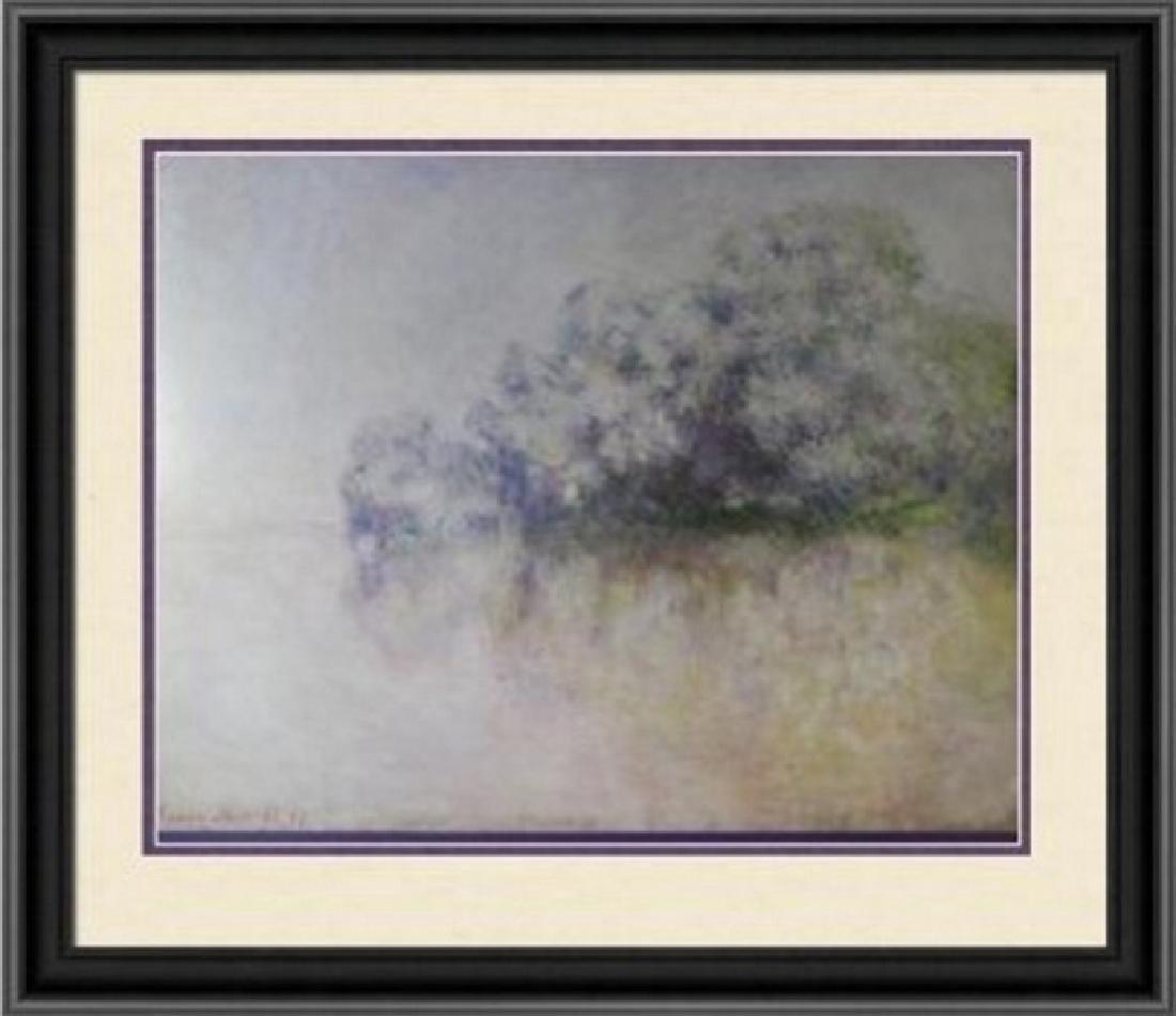 Signed Lithograph Claude Monet