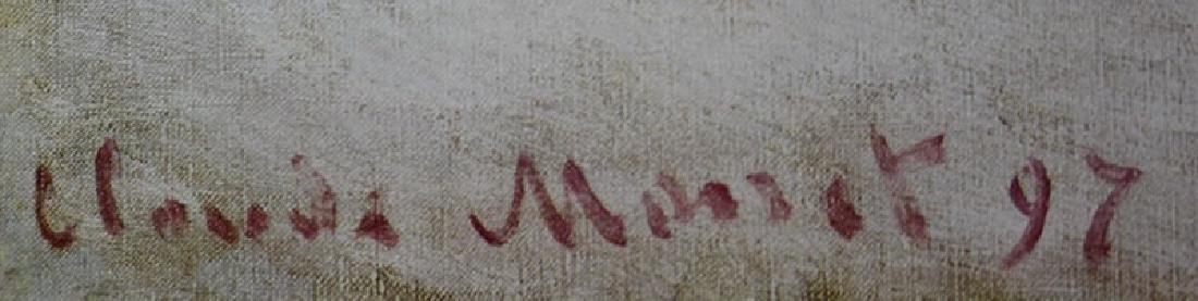 Signed Lithograph Claude Monet - 2