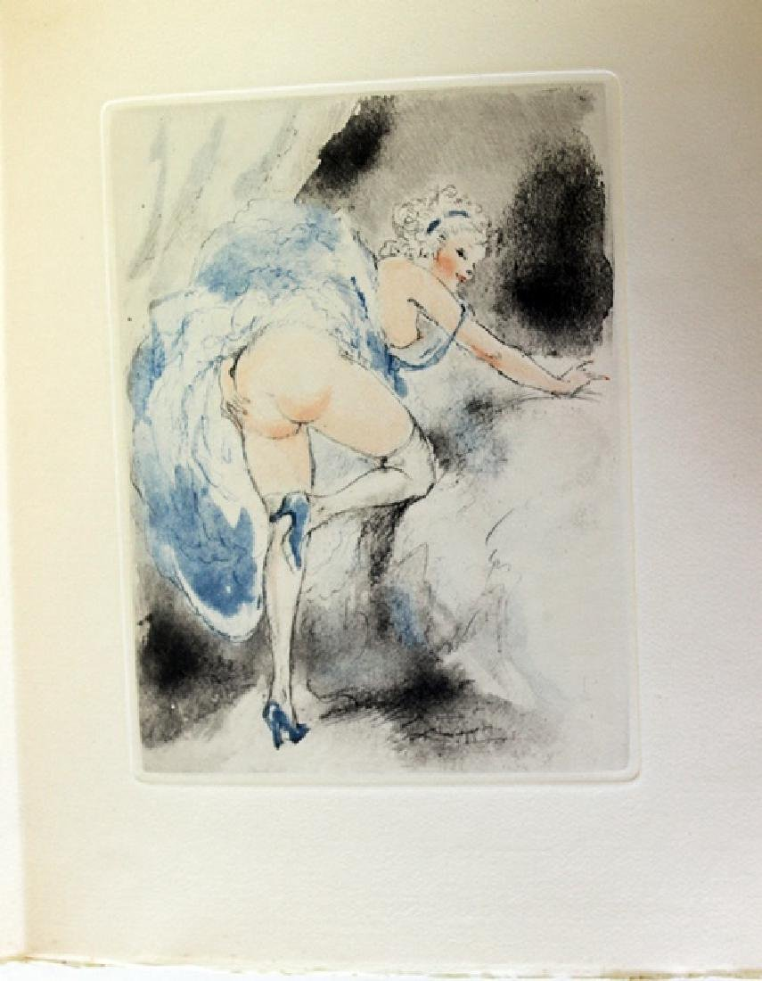 Original Etching Louis Icart - Itching For Love - 2