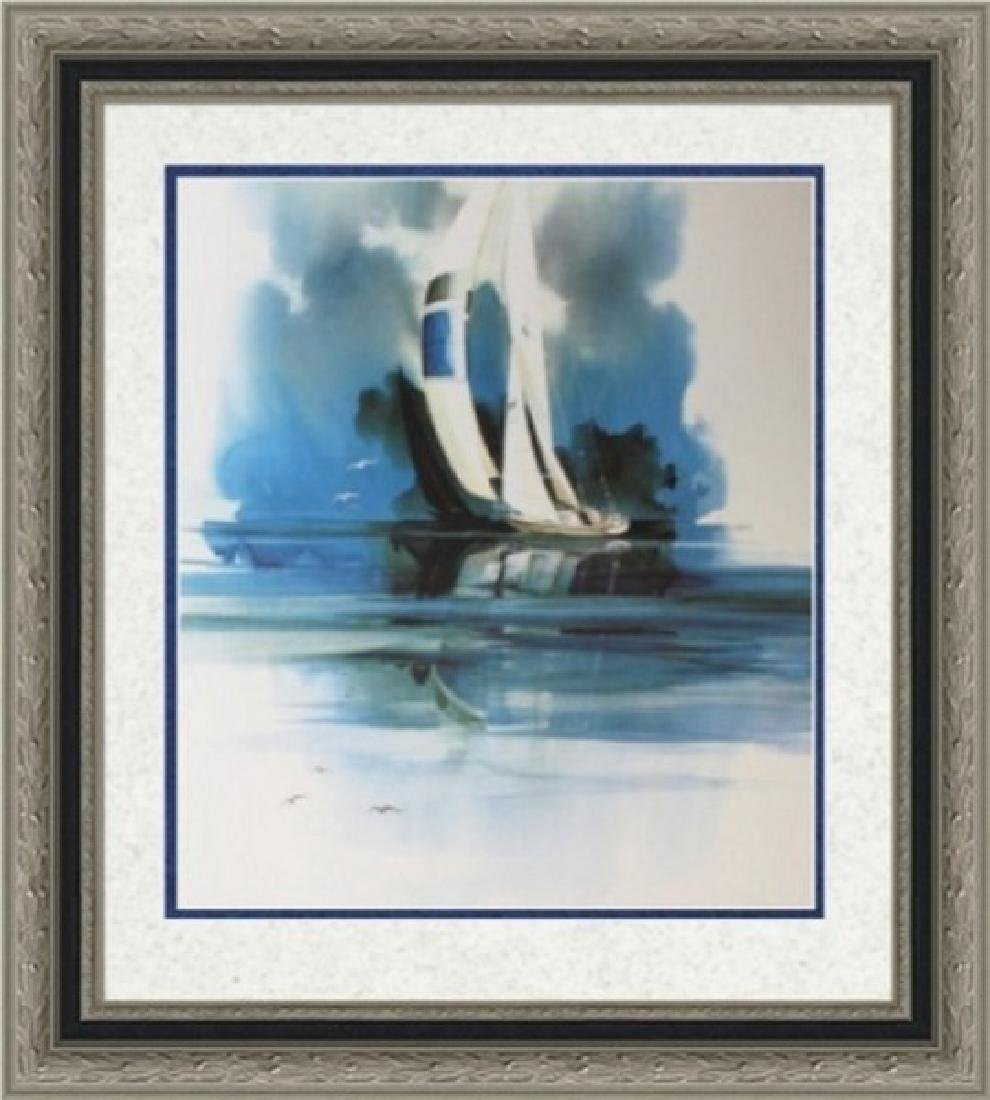 Double Signed Ltd Ed Lithograph Mike Atkinson
