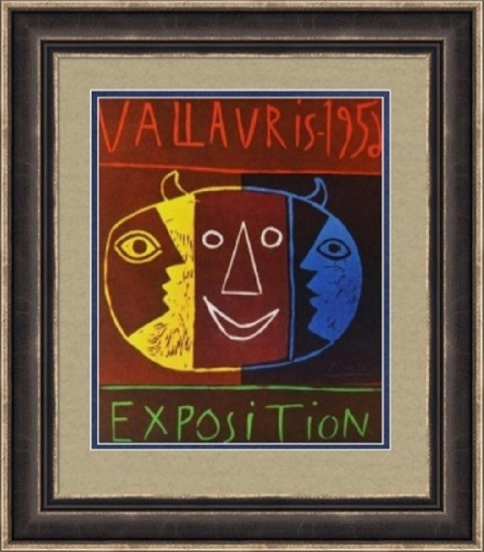 Lithograph Pablo Picasso Expo Vallauris 1952