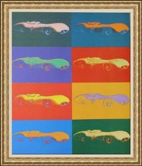 Lithograph By Andy Warhol - Mercedes Benz Formel I