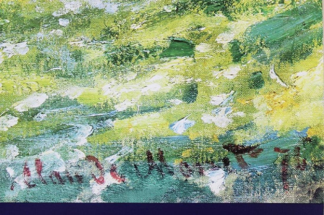 Signed Lithograph Claude Monet - The Parc Monceau - 2