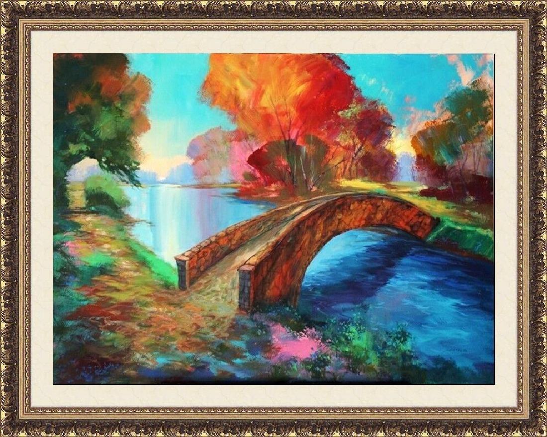 Bridge Between Nature-M. Schofield 40x30