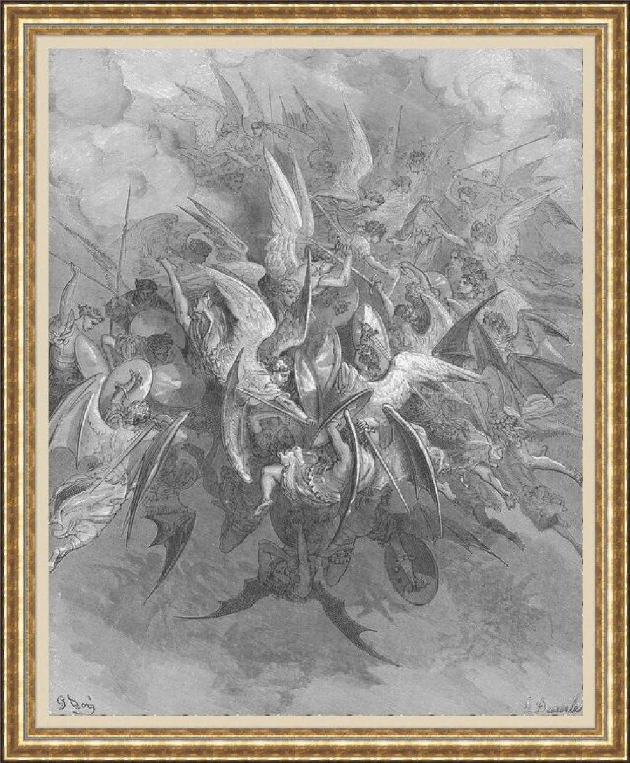 Signed Fine Art Print Gustave Dore Bible