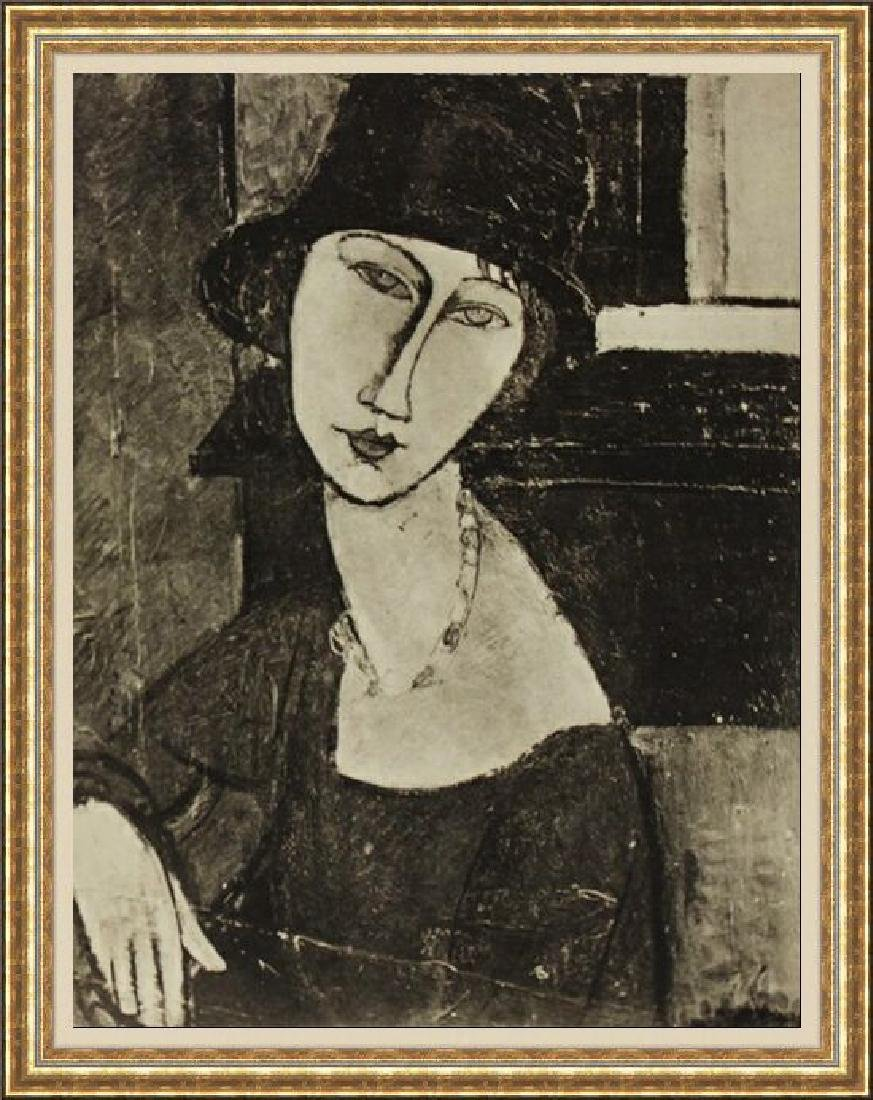 Beautiful Lithograph by Amedeo Modigliani