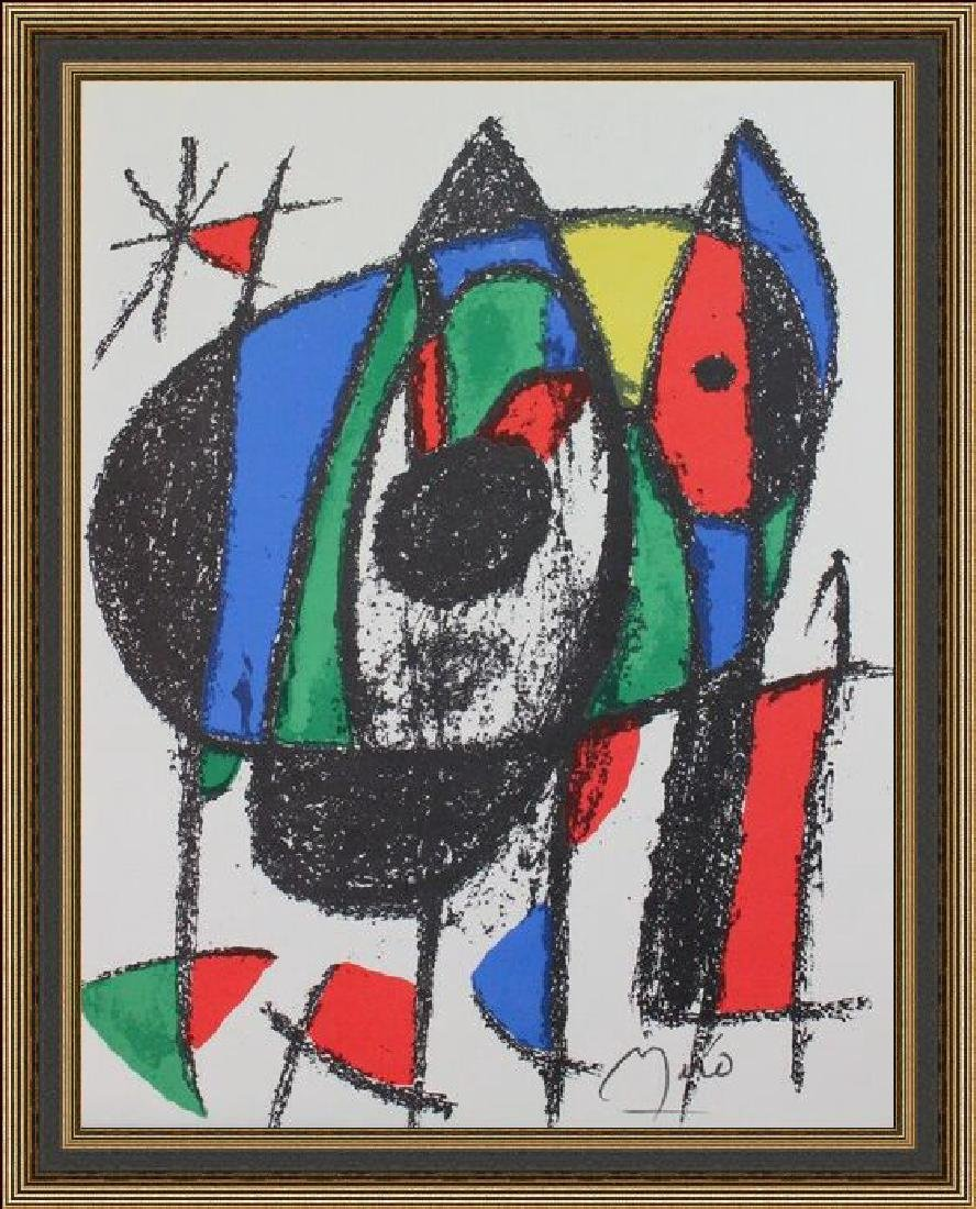 Signed Joan Miro Lithograph