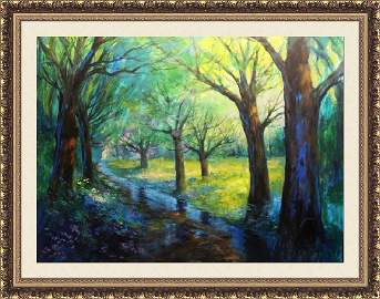 Nature's Bliss by Michael Schofield 48x60