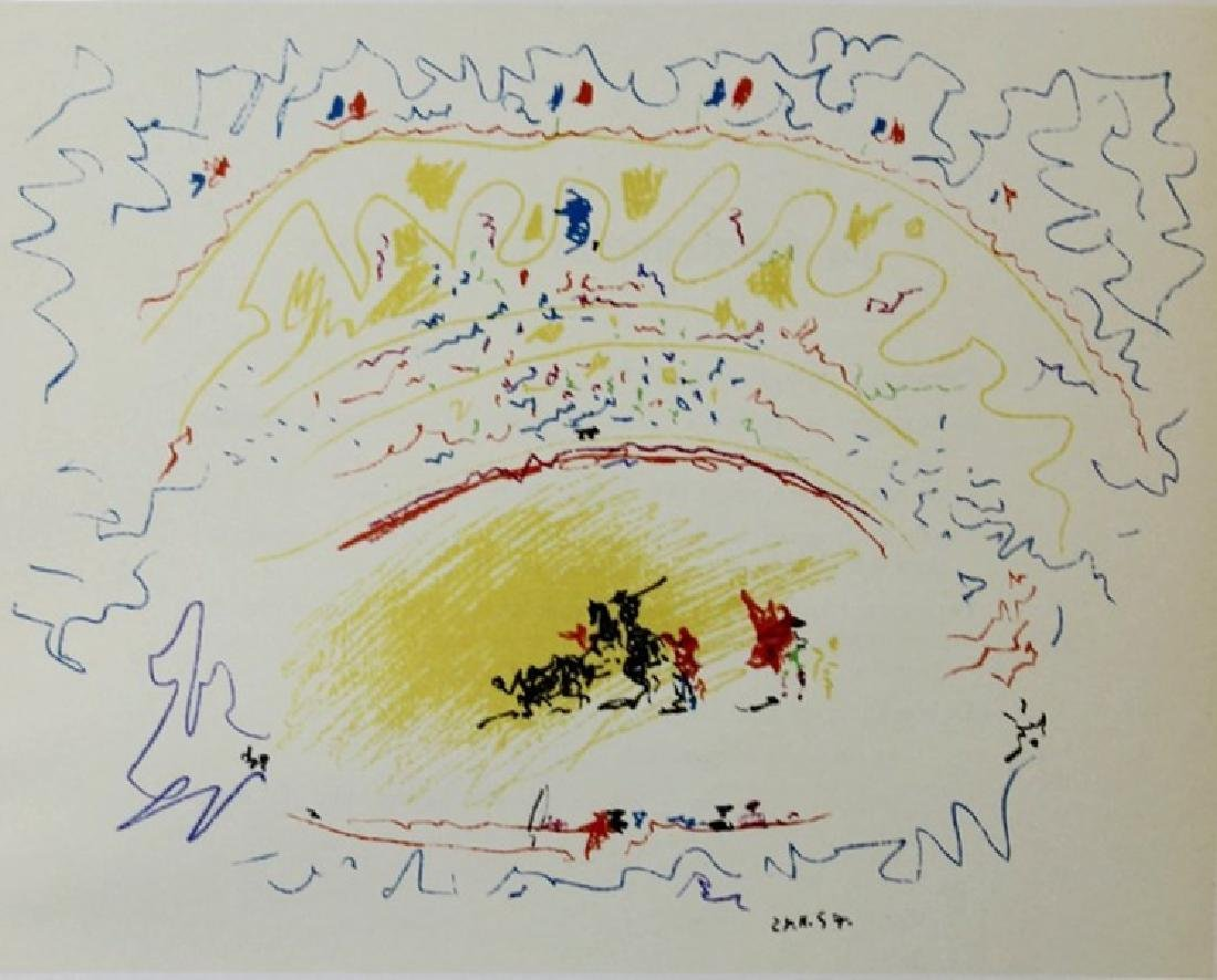Signed Pablo Picasso Lithograph - 2