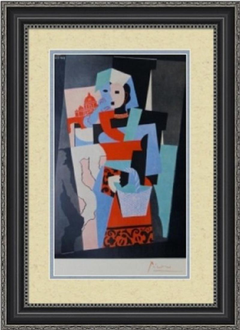Signed Pablo Picasso Lithograph