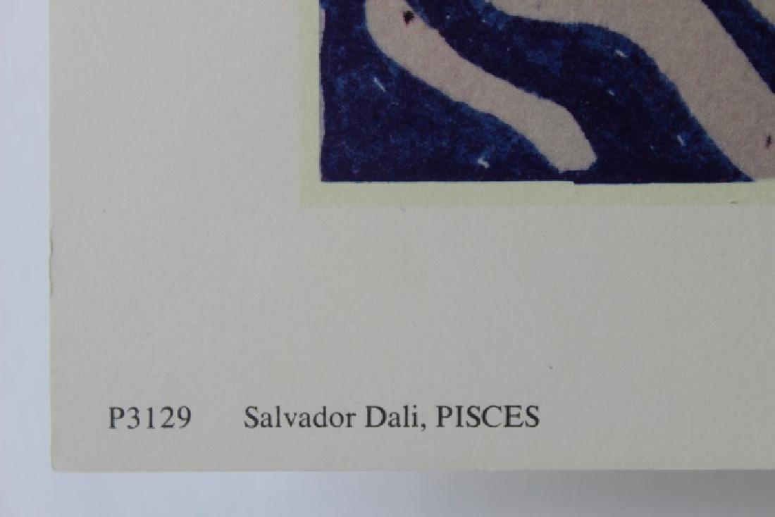 Pisces, Zodiac Suite - Salvador Dali - 5