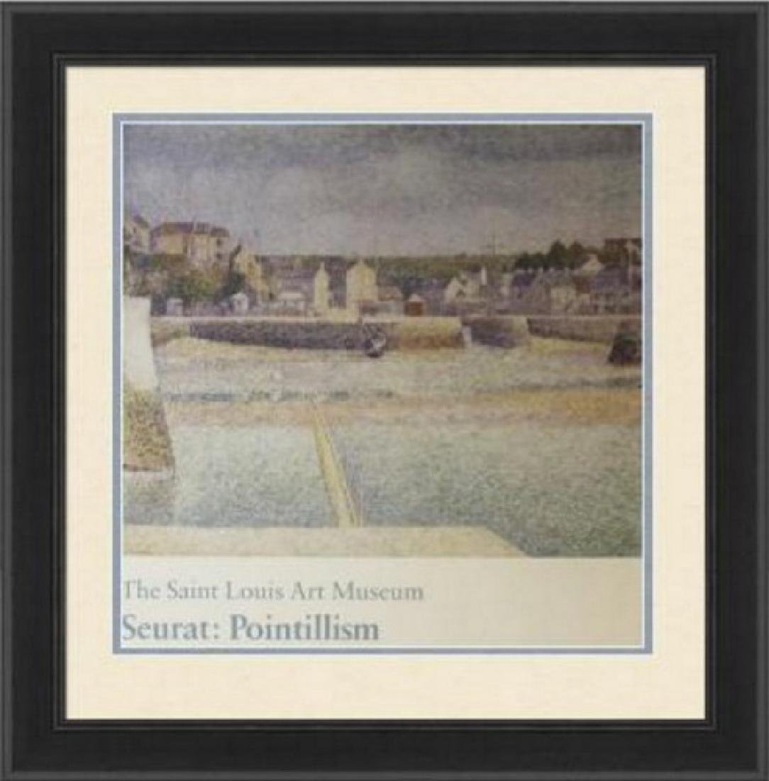 Signed Lithograph Georges Seurat - The Outer Harbor