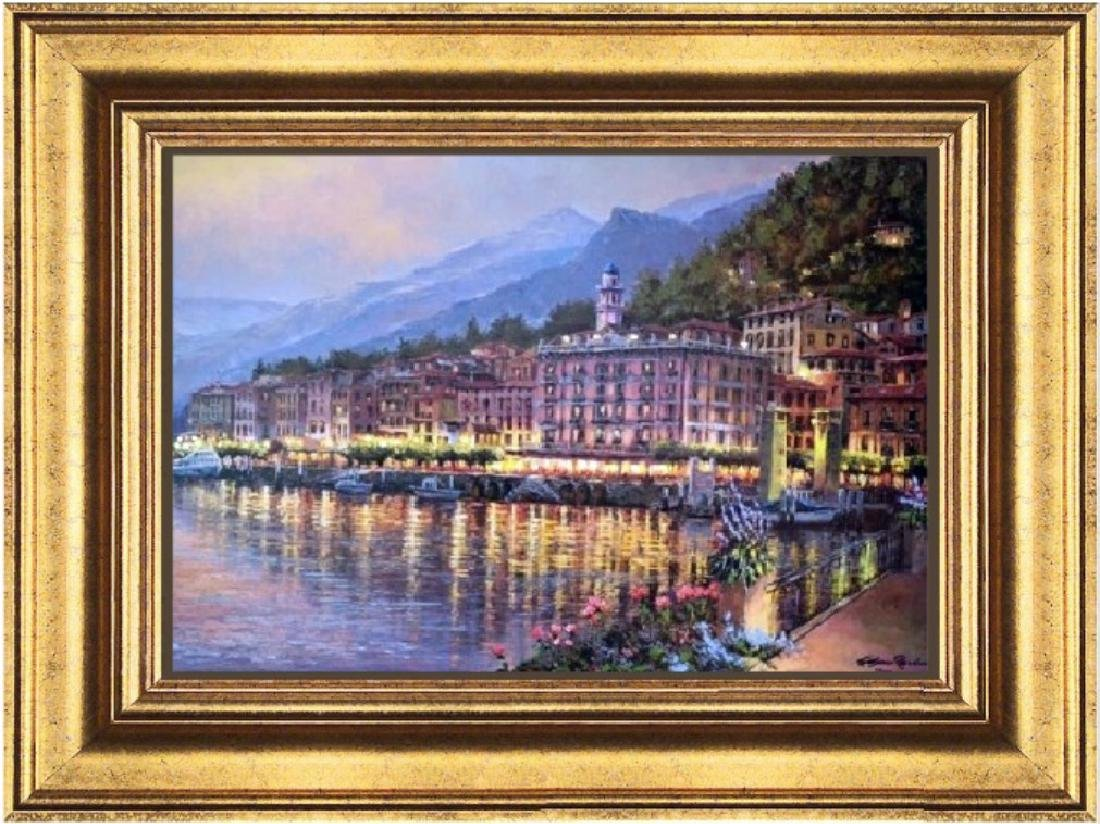 Hand Signed Ltd Ed S. Sam Park - Bellagio Twilight
