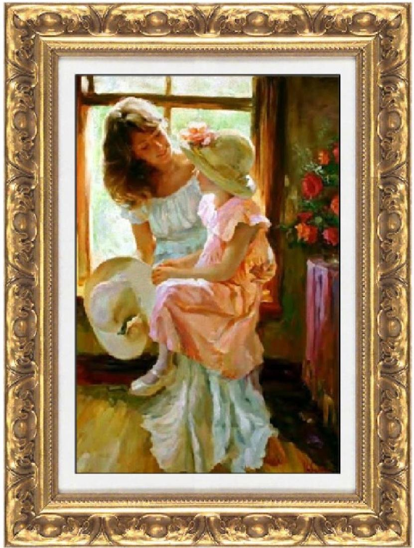 Hand Signed Ltd Vladimir Volegov - A Mid Morning Chat