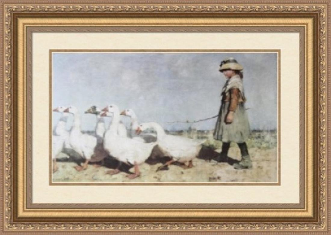 Signed Lithograph Sir James Guthrie 1883