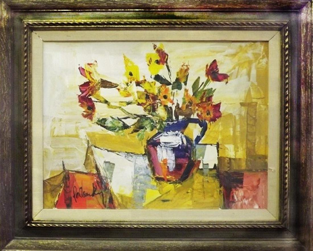 Still Life II - Painting by Palasky