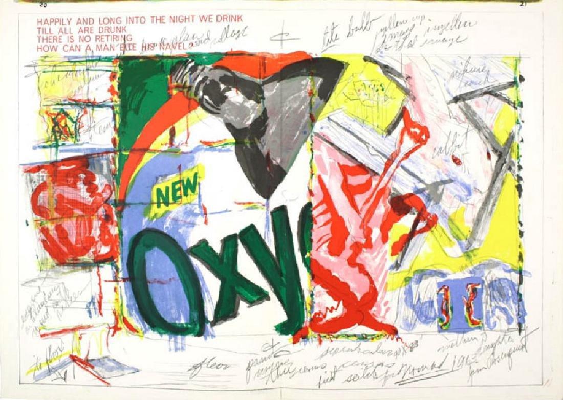 Original Lithograph James Rosenquist