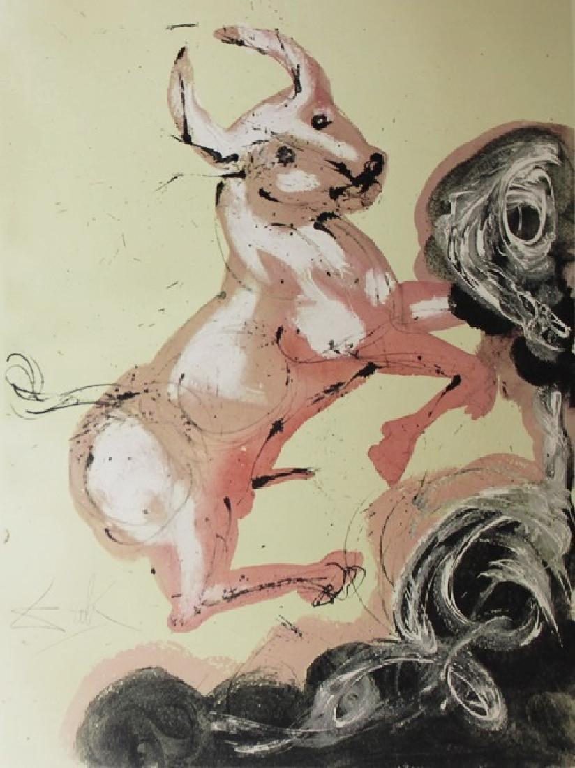 Taurus, Zodiac Suite - Salvador Dali - 2