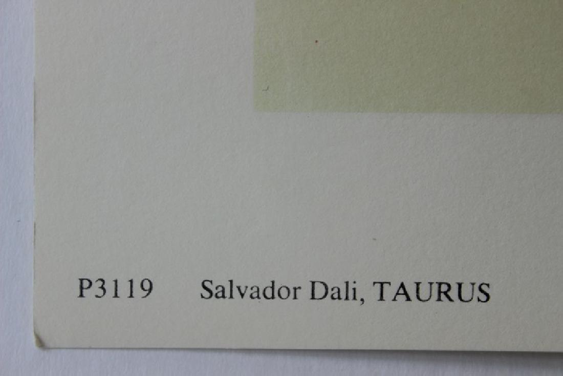 Taurus, Zodiac Suite - Salvador Dali - 4