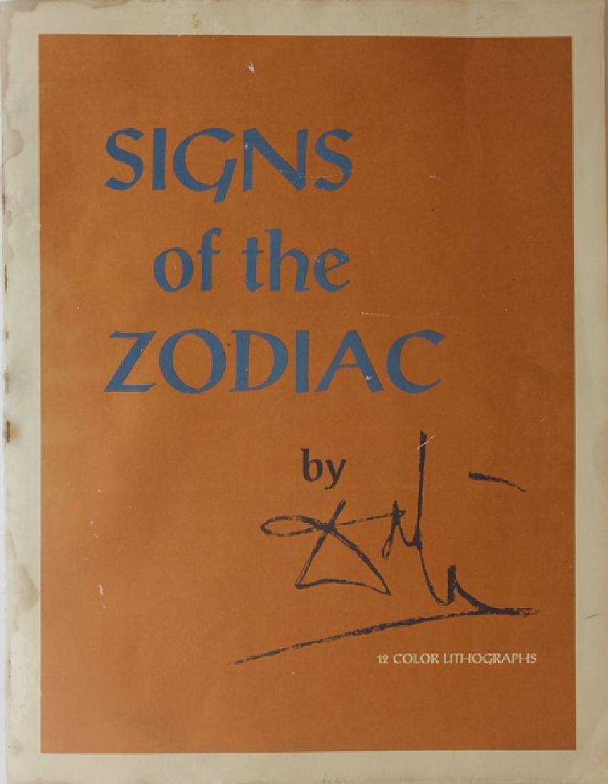 Taurus, Zodiac Suite - Salvador Dali - 7