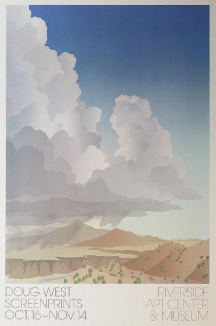Fine Art Lithograph Doug West