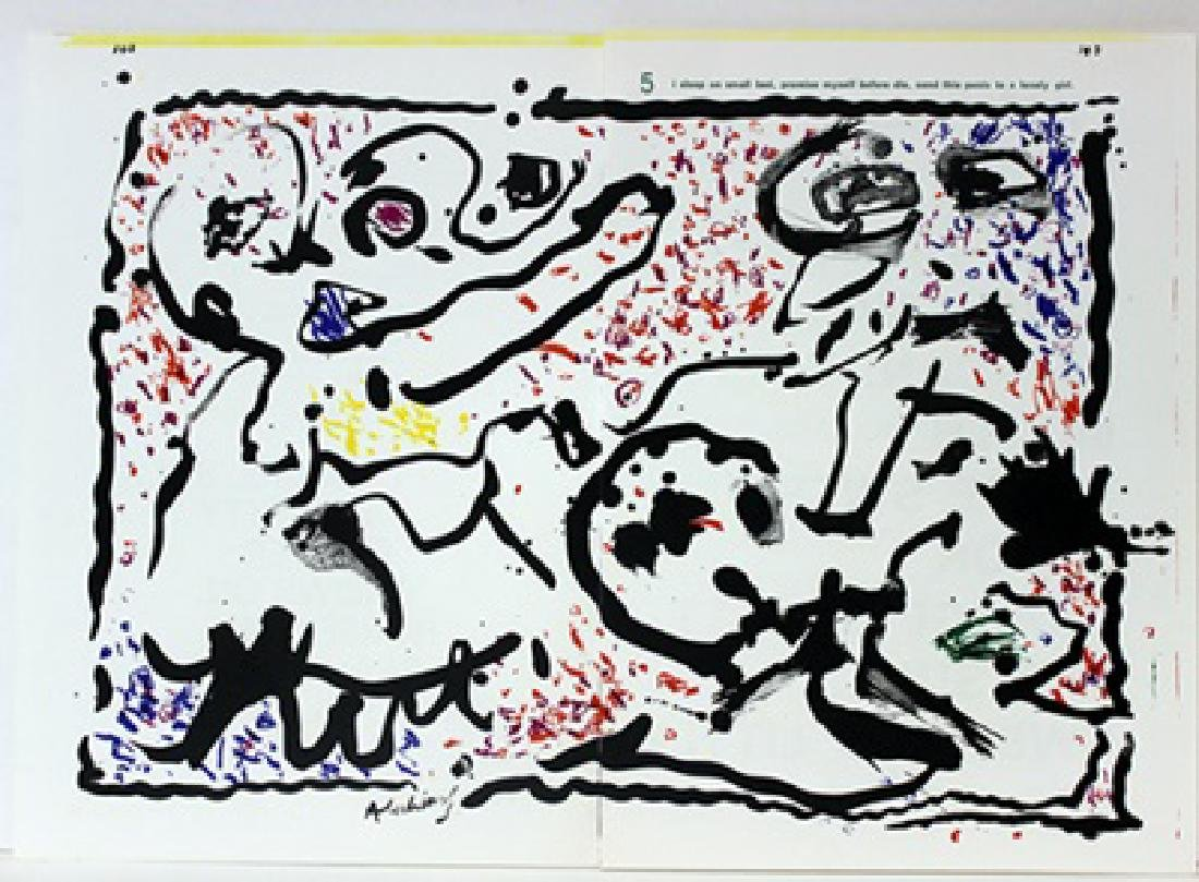Original Lithographs by Jean-Paul Riopelle & Pierre