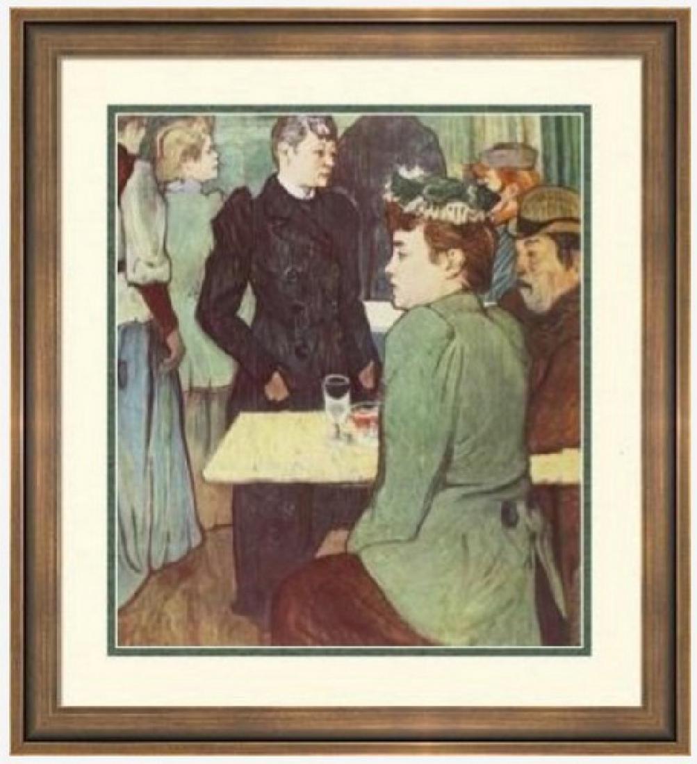 Lithograph H. Toulouse-Lautrec