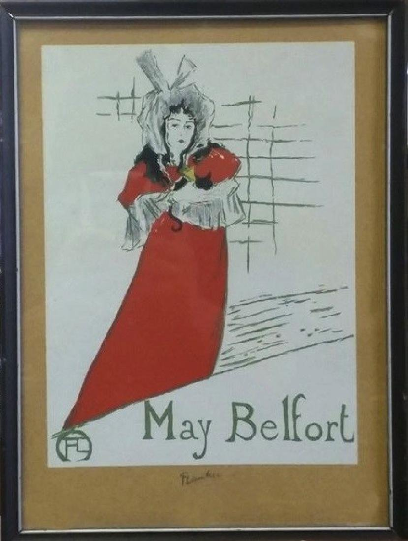 May Belfort - Toulous Lautrec