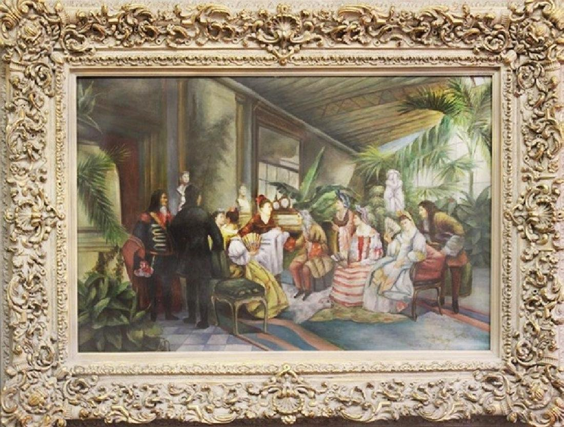 Original Oil Painting - The Argument