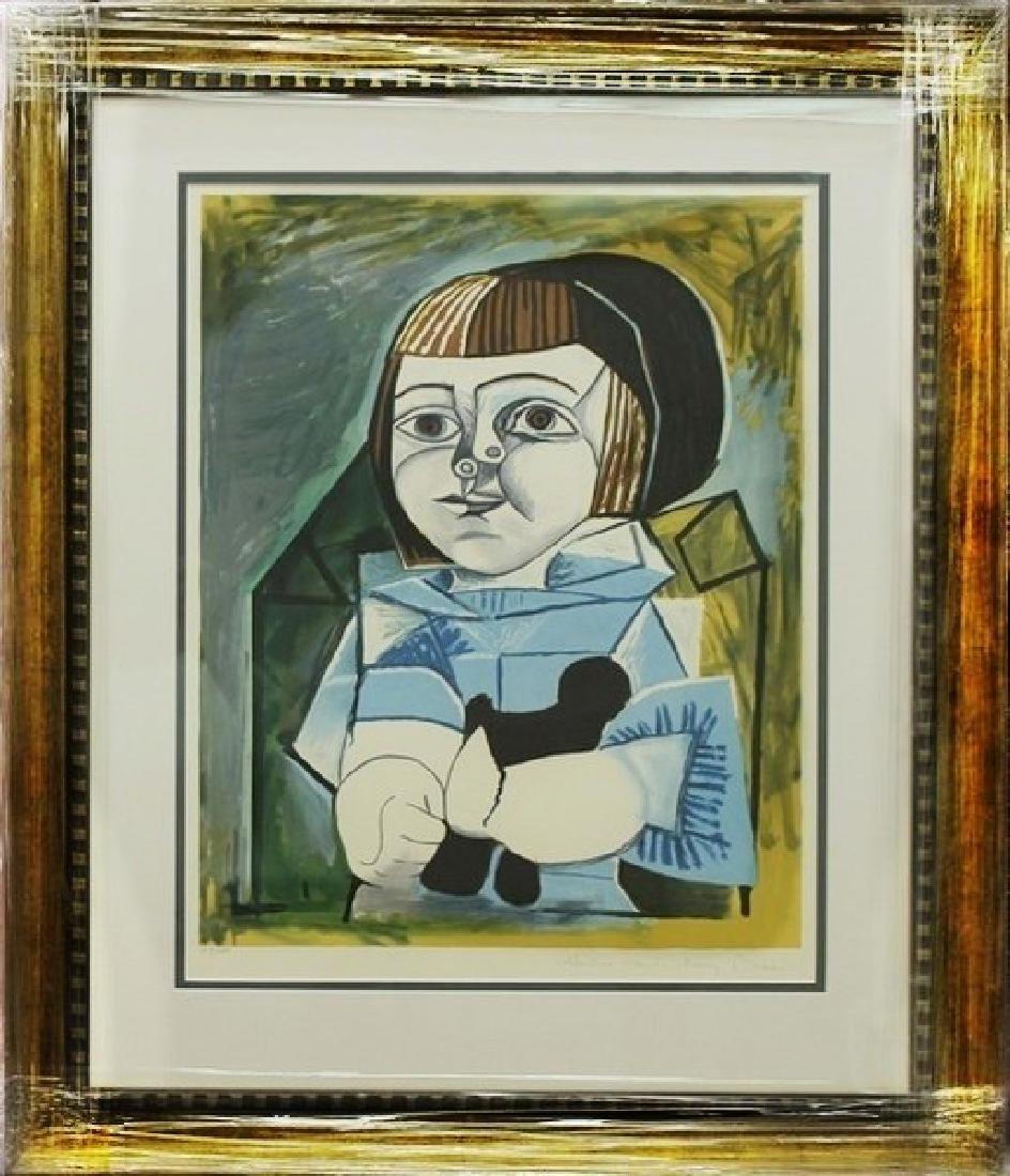 Paloma en Bleu 1952' - Pablo Picasso