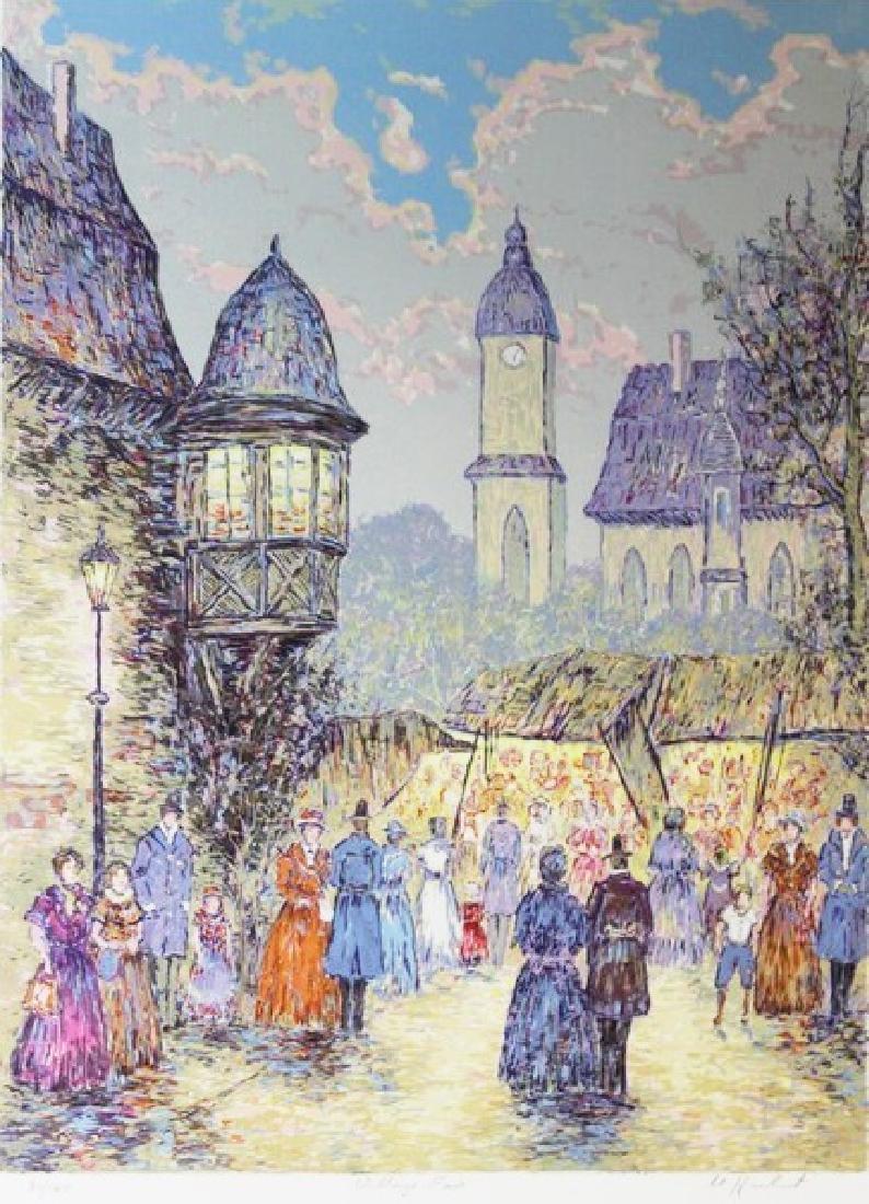 Hand Signed Ltd Ed Serigraph Manfred H. Kuhnert