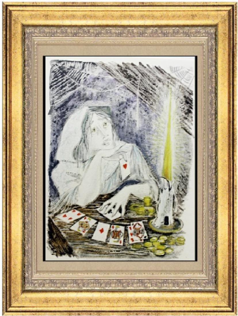 Original Signed Lithograph Marianne Clouzot