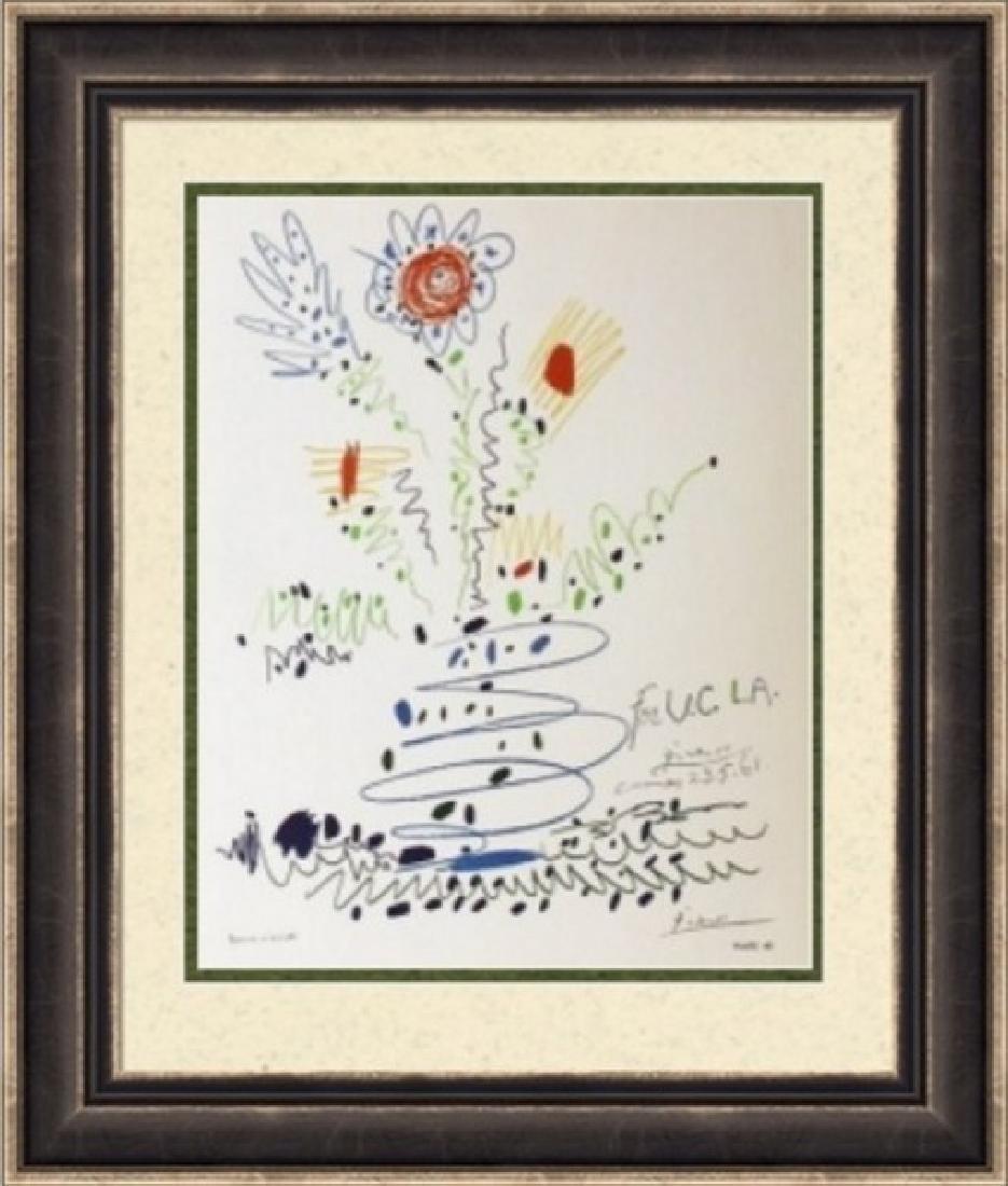 Lithograph Pablo Picasso U.C.L.A. 1961