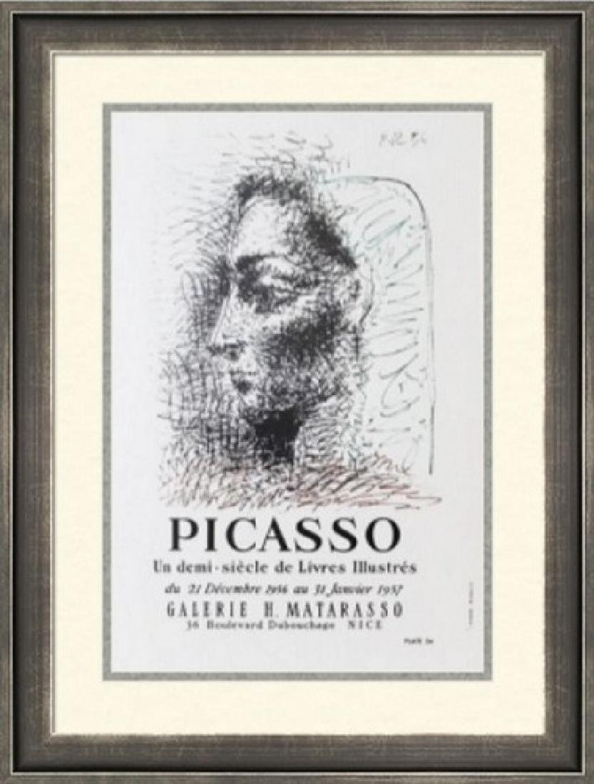 Lithograph Pablo Picasso Expo Vallauris, Plate 24 1956