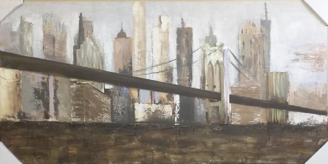 Manhattan. NY - Oliver Salizar 30x60