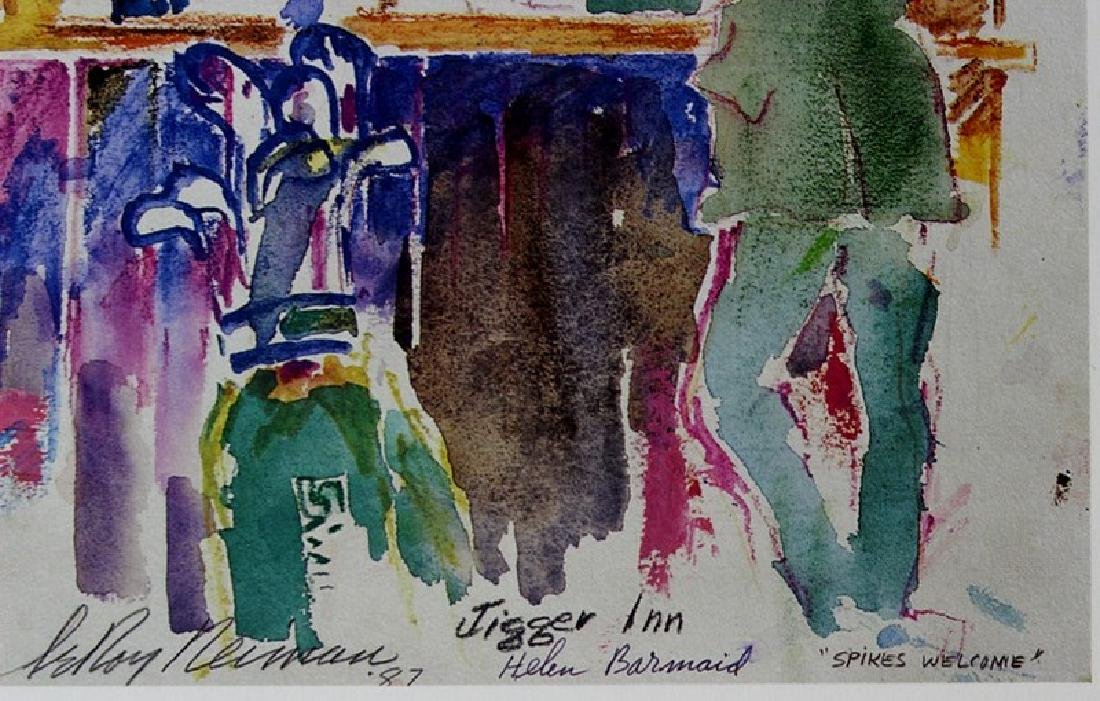 Signed Fine Art Lithograph by LeRoy Neiman - 2