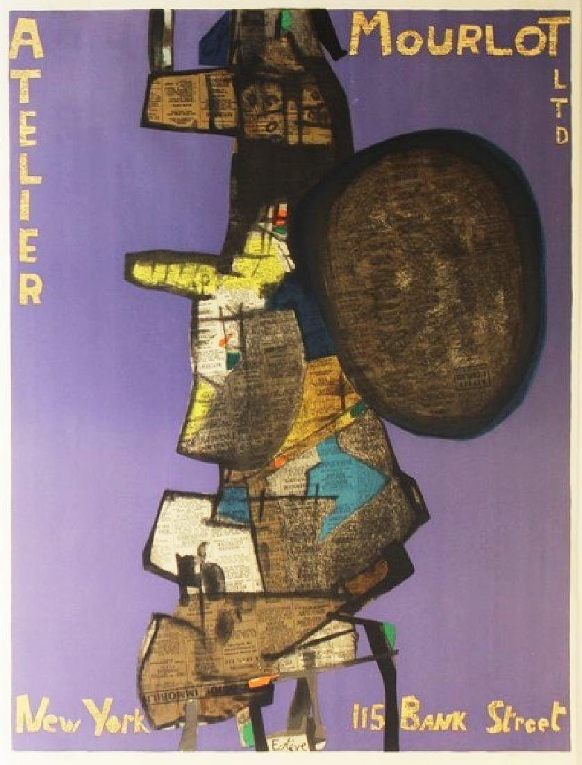 Original Signed Exhibition Lithograph Esteve Mourlot NY