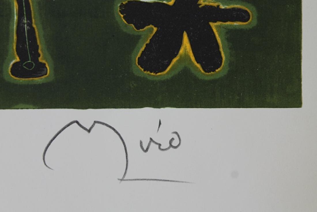 Rare Color Lithograph by Joan Miro - 3