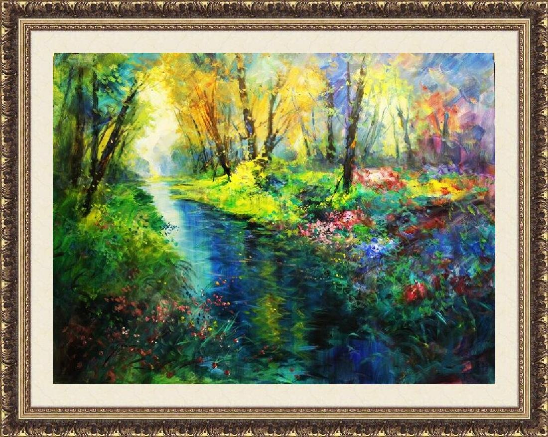 Monet's Flower Creek - Michael Schofield