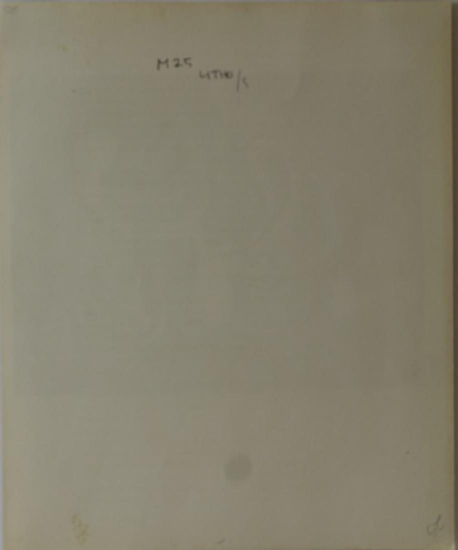 Rare Color Lithograph by Joan Miro - 5