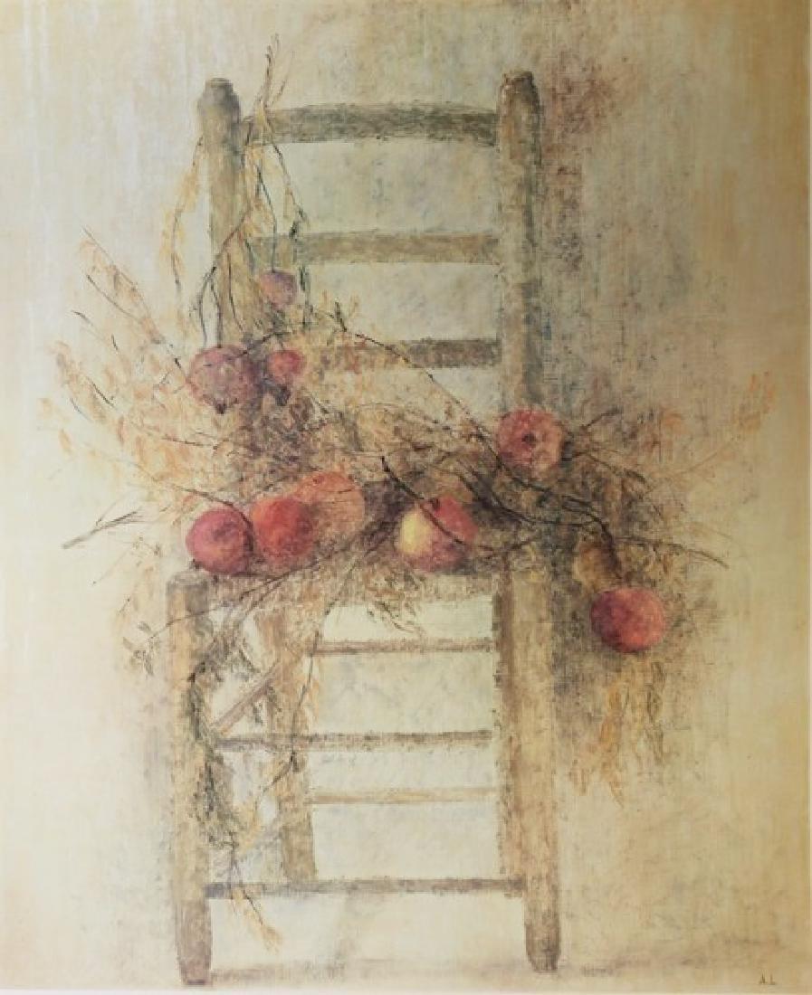 Signed Lithograph Anne Le Bouriau - Autumn of 1953