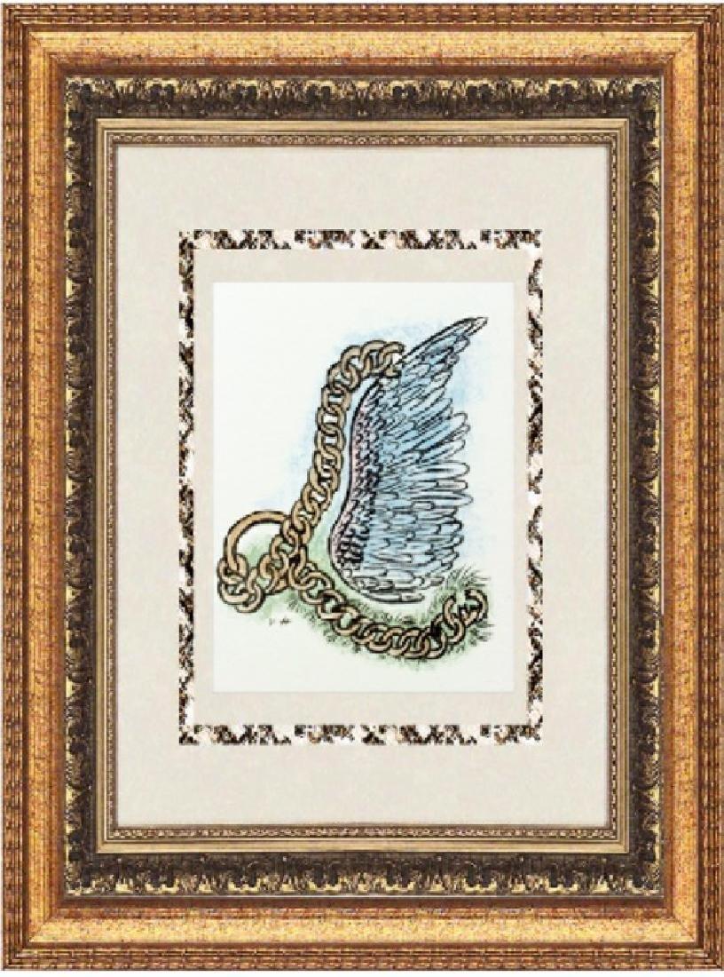 Original Signed Lithograph by Valentine Hugo