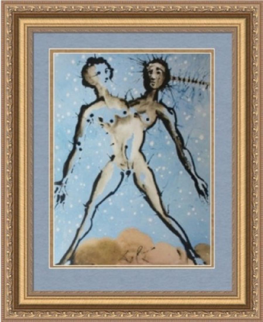 Gemini, Zodiac Suite - Salvador Dali