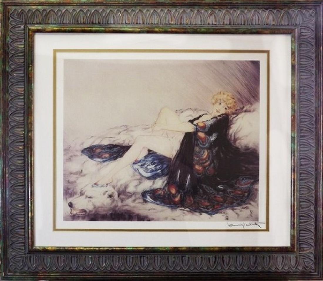 Silk Robe 1926' - Louise Icart -Etching