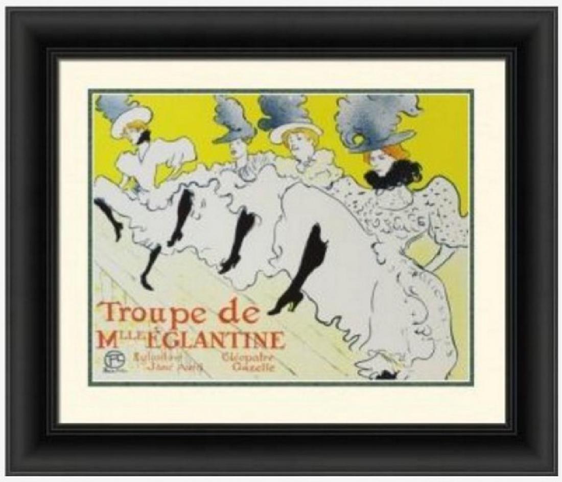 Signed H. Toulouse-Lautrec Lithograph