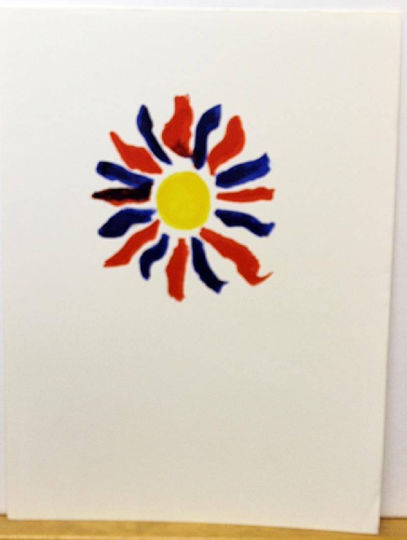 Original Signed Lithograph by Alexander Calder - 2