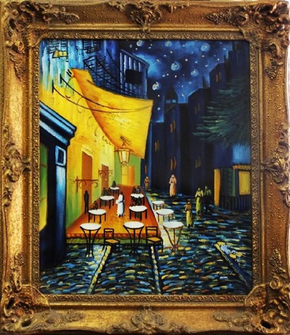 Café at Night - Original Painting