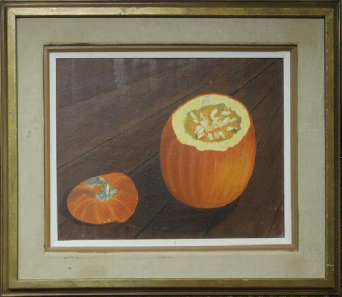 Chopped Pumpkin - Original Painting